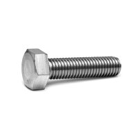 鉄/三価ステンコート 六角ボルト 全ねじ M6×90