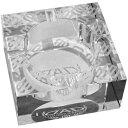ディーエーディー D.A.D 2006 ロゴ クリスタル 灰皿 WHITE/ホワイト 喫煙アクセサリー 7272802006010