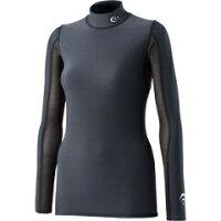 光電子サーマルハイネックロングスリーブ レディース コンプレッションウェア カラー:ブラック サイズ:M #3FW03304