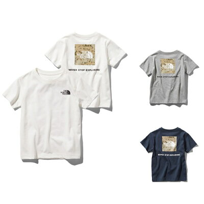 THE NORTH FACE NTJ81930 S/S スクエア ロゴ グラフィック ティー