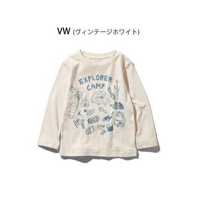 THE NORTH FACE L/S GRAPHIC TEE NTJ81932
