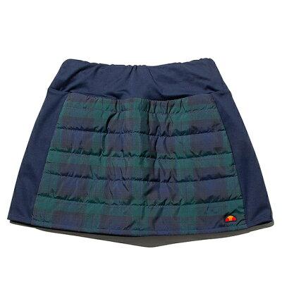 ベースラインウィンタースカート P サイズ:M カラー:ネイビーチェック #EW29306P-NC