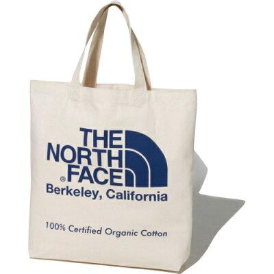 THE NORTH FACE ザ・ノースフェイス TNF ORGANIC C TOTE TNF オーガニック コットン トート 20L SO ナチュラル×ソーダライトブルー NM81971