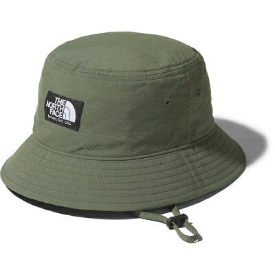 THE NORTH FACE ザ・ノースフェイス KIDS' CAMP SIDE HAT キャンプ サイド ハット キッズ KM TG タイムグリーン NNJ02004