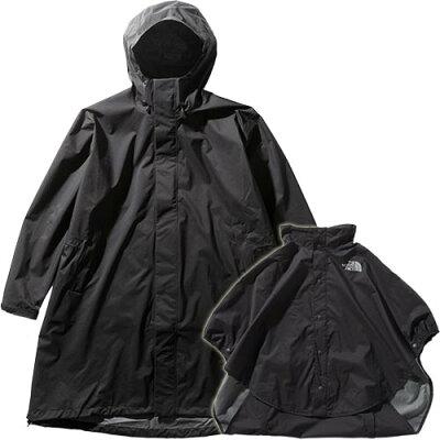 ノースフェイス THE NORTH FACE レディース マタニティレインコート Maternity Rain Coat ブラック NPM12001 K