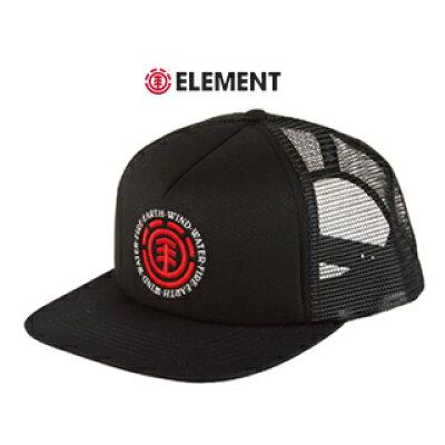 ELEMENT/エレメント メッシュバックキャップ SEAL TRUCKER CAP