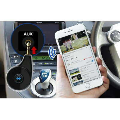BlueMusic Plug Bluetooth AUXレシーバー 3R-BMP01