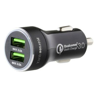 INOVA カーチャージャー シガーソケット USB 2ポート 6.0A 3R-KMC02