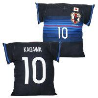 日本代表 オフィシャル ユニフォーム型クッション No.10 香川真司 サッカー サポーター グッズ