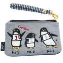 ユニック 刺繍パスポーチ ペンギン UN-0131C