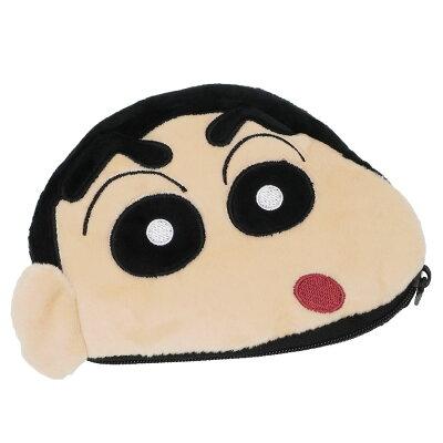 クレヨンしんちゃん ミニポーチ ぬいぐるみポケットティッシュポーチ しんのすけ ユニック かわいい アニメ