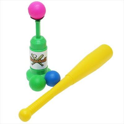 おもちゃ バッティングトスマシーン 安打養成マシーン ユニック 玩具  おもしろZAKKAグッズ
