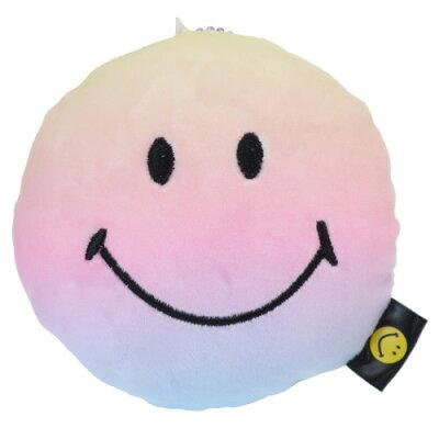 スマイリーフェイス もちもち ぬいぐるみ フェイス マスコット マスコット レインボー Smiley Face
