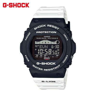 カシオ ソーラー電波時計 G-SHOCK G-ショック スポーツライン G-LIDE Gライド '19夏モデル GWX-5700SSN-1JF
