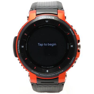 カシオ CASIO PRO TREK Smart(プロトレックスマート) メンズスマートウォッチ WSD-F30-RG オレンジ
