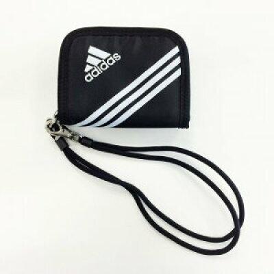 adidas 二つ折り財布 キッズ コインケースウォレットコード付き 47622