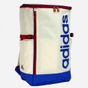 adidas スクールバッグ スクール スポーツ 24L B4 スクエア型 47976 オフホワイト/06