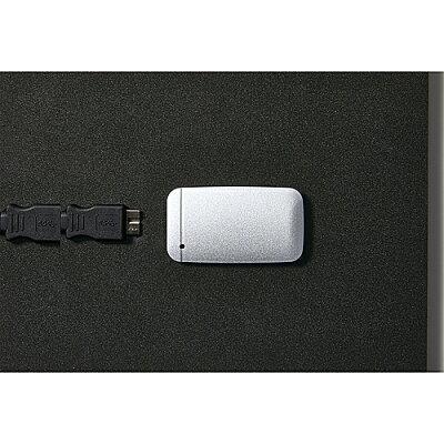 ELECOM USB Type-Cケーブル付き外付けポータブルSSD ESD-EF1000GSV