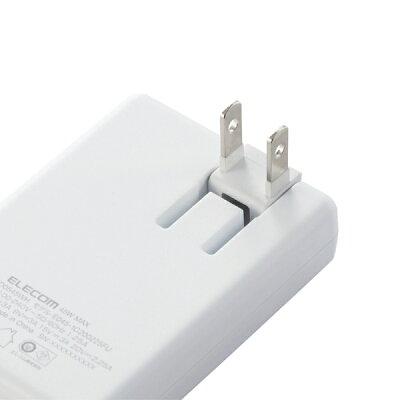 ELECOM USB AC充電器 ACDC-PD0545WH