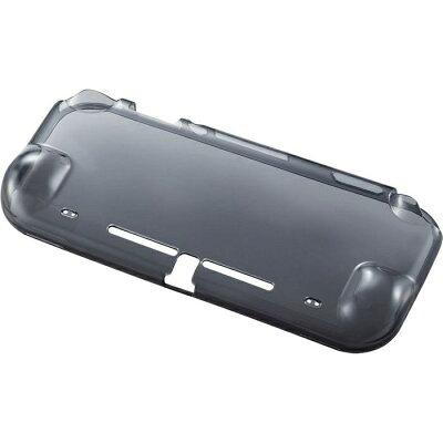 エレコム ELECOM Nintendo Switch Lite専用 透明ソフトケース ブラック GM-NSLUCBK