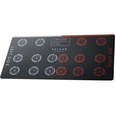 エレコム トレーニングマット 1000mm 汚れが目立たない エクリアスポーツ HCF-PT100GY(1枚)