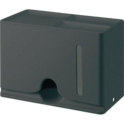 エレコム マスクケース 収納 ボックス 抗菌 マグネット 60枚収納 IPM-MKBOXBK(1個)