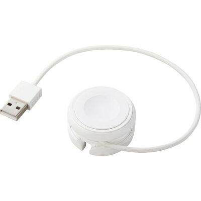 エレコム アップルウォッチ 充電ケーブル 巻き取りタイプ Apple正規認証品 MPA-AWMWH(1個)