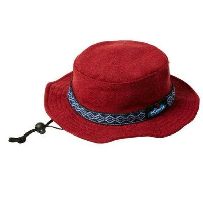 KAVUカブー Bucket Hat WoolBurgundy M
