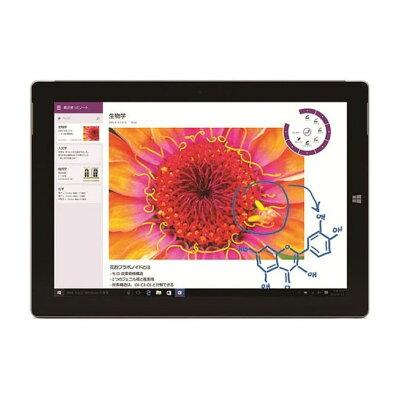 マイクロソフト Surface 3 サーフェス Atom x7/64GB/2GB/Win10 単体モデル Office付き/Windowsタブレット/WiFiモデル 7G5-00026 2015年モデル・シルバー