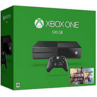 Xbox One 500GB(バトルフィールド 1同梱版・税抜29980円)/XBO/5C700265/D 17才以上対象