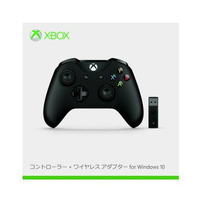 Microsoft ワイヤレスゲームパッド 11ボタン Win Xbox Controller+ Wireless Adapter for Windows 10 4N7-00008 4N700008