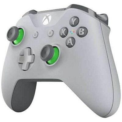 マイクロソフト Xbox ワイヤレス コントローラー グレー / グリーン WL3-00062 Xbox One