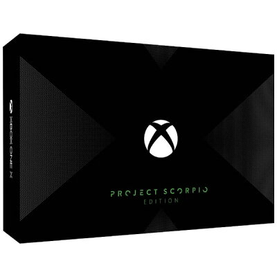 Microsoft Xbox One X Project Scorpio エディション