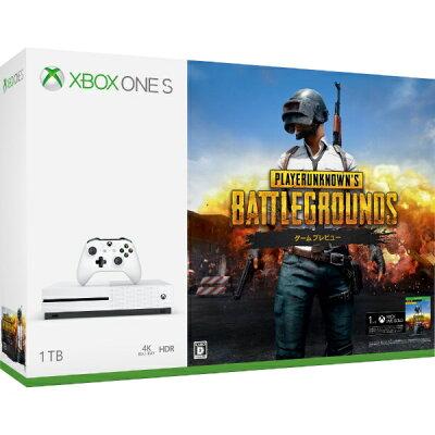 Xbox One S 1TB(PLAYERUNKNOWN'S BATTLEGROUNDS同梱版・期間限定25980円)/XBO/234-00316/D 17才以上対象