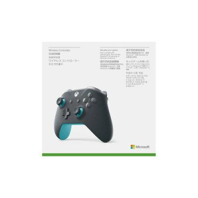 マイクロソフト Microsoft Xbox ワイヤレス コントローラー グレー/ブルー WL3-00109