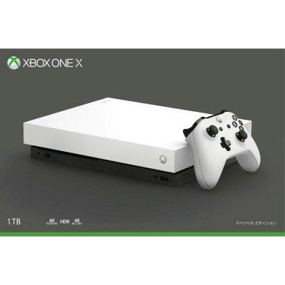 Microsoft Xbox One X XBOX ONE ホワイト スペシャル エディション