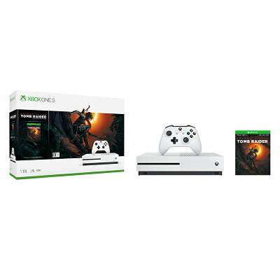Xbox One S 1TB(シャドウ オブ ザ トゥームレイダー同梱版)/XBO/234-00789/【CEROレーティング「Z」(18歳以上のみ対象)】
