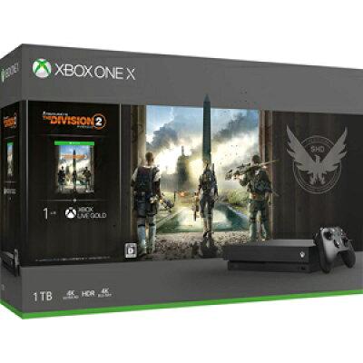 Xbox One X(ディビジョン2同梱版)/XBO/CYV-00270/D 17才以上対象