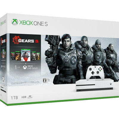 Microsoft Xbox One S 1TB (GEARS 5 同梱版)