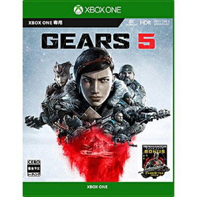 Gears 5/XBO/6ER-00024/【CEROレーティング「Z」(18歳以上のみ対象)】