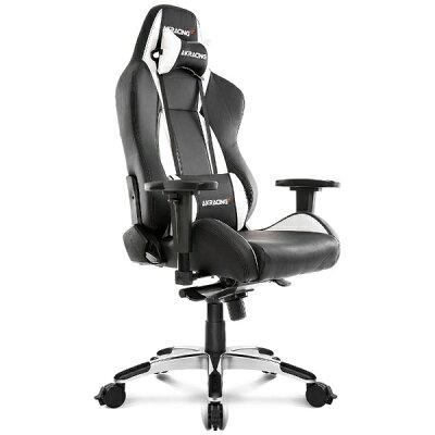 AKRACING エーケーレーシング ゲーミングチェア Premium Gaming Chair Silver シルバー色