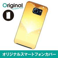 Galaxy S6 SC-05G ギャラクシー エスシックス ケース ハート SC05G-08HT040