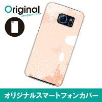 Galaxy S6 SC-05G ギャラクシー エスシックス ケース フラワー SC05G-08FW097