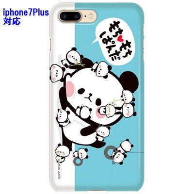 ドレスマ iPhone 7 Plus iphone7plus アイフォン セブン プラス 用シェルカバー もちもちぱんだ ドレスマ IP7P-08PA007