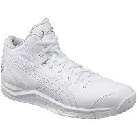 アシックス バスケットボール GELTRIFORCE 2-slim ゲルトライフォース TBF326 ホワイト×ホワイト 25.5cm