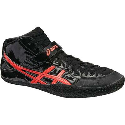 アシックス asics  athletic ht-japan tft369 ブラックxフラッシュコーラル