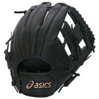 asics  野球 軟式グローブ一般 ナンシキ.ダイブ メンズ LH ブラツク BGR6BS.90