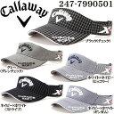 キャロウェイ Callaway ゴルフ メンズ ツアースタイルバイザー 247-7990501