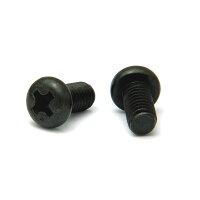 ステンレス/SSブラック + ナベ小ねじ 全ねじ M3.5 × 45