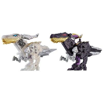 バンダイ BANDAI 騎士竜戦隊リュウソウジャー 騎士竜シリーズ08&09 DXシャインラプター&シャドーラプターセット